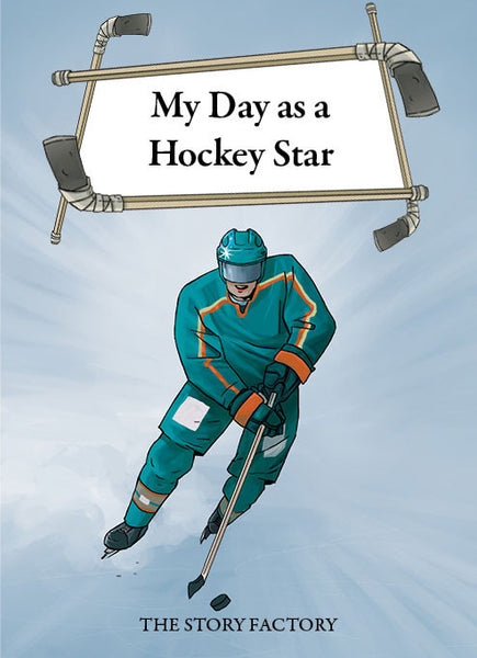 Personalised book for children - My day as a Hockey star - PetitePeople