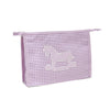 Baby personalised toiletry bag - Blue Gingham - PetitePeople