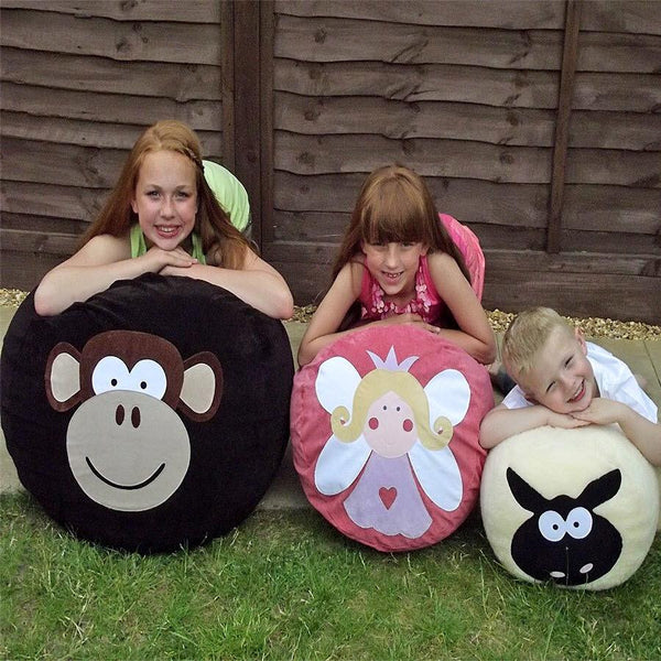 Personalised bean bag - Melvin Monkey - PetitePeople