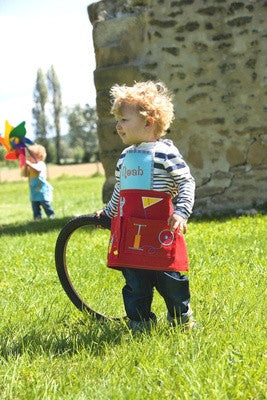 Personalised apron - The cyclist - PetitePeople