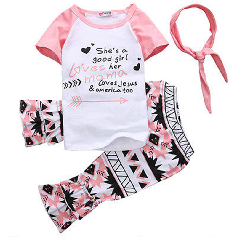baby girls fall clothing girls floral party outfits baby girls boutique clothes Short sleeve with ruffle pant with accessories - PetitePeople