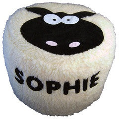 Personalised Bean Bag - Wolly Sheep - PetitePeople