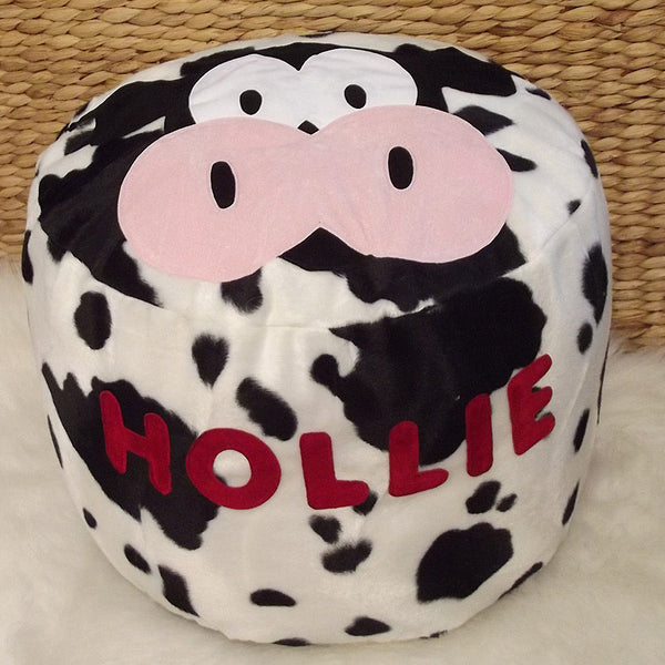 Personalised bean bag - Milky Moo Cow