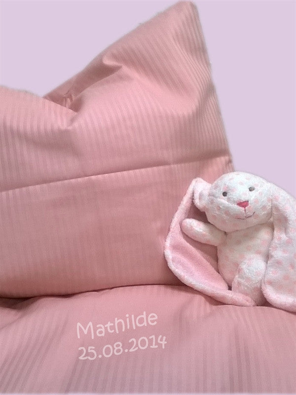 Baby Bedding by name, girl, pink - PetitePeople