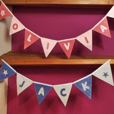 Personalised Name Baby Bunting - PetitePeople
