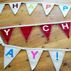 Reversible Birthday Bunting - PetitePeople