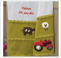 Personalised blanket - Tractor - PetitePeople
