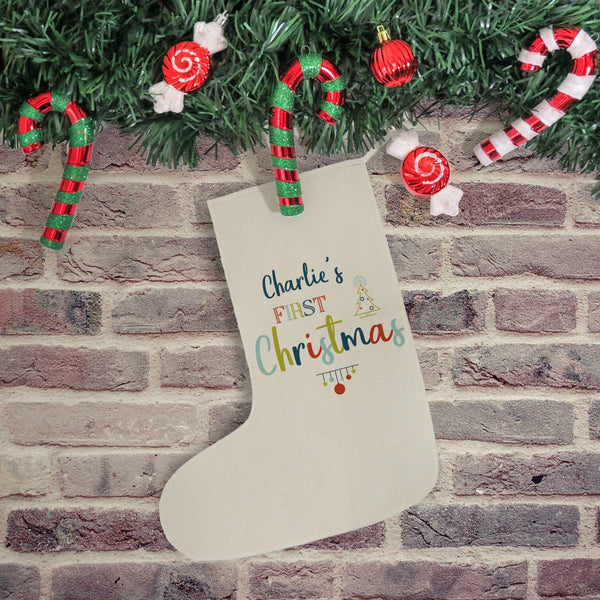 My First Christmas Stocking - PetitePeople