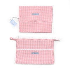 Unpadded Baby Travel Changing Mat and Toiletry Bag - PetitePeople