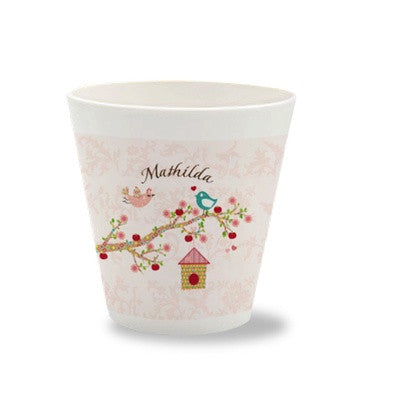 Personalized Children's Cup Floral Rose - PetitePeople