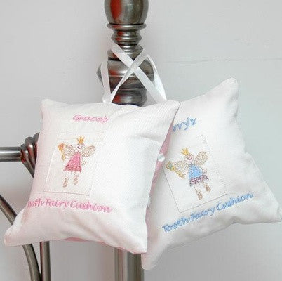 Personalised Pink Toothfairy Cushion - PetitePeople