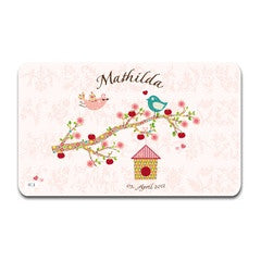 Personalized Cutting Board Floral Rose - PetitePeople