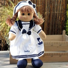 Sailor Sally Rag Doll - PetitePeople