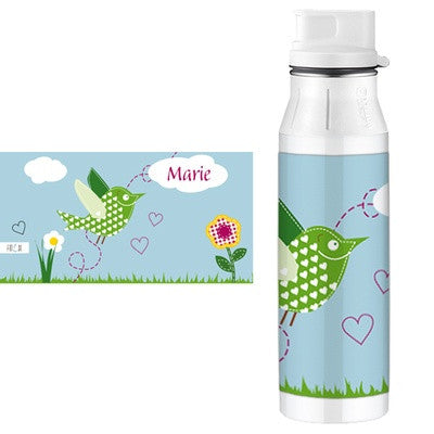 Personalised Alfi Stainless Steel Flask Bird - PetitePeople