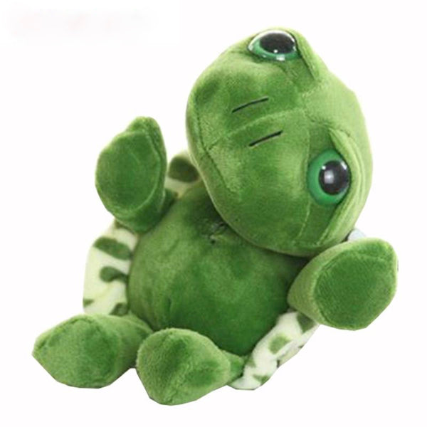 Tronzo 20cm Super Green Big Eyes Stuffed Tortoise Turtle Animal Plush Baby Toy Birthday/Christmas Gift  For Kids Dropshipping - PetitePeople