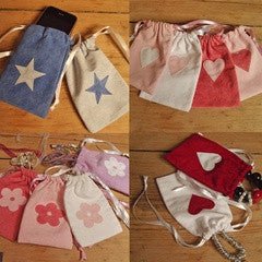 Small Drawstring Gift Bags - PetitePeople