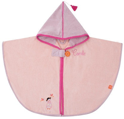 Personalized Tonkinese Hooded Bath Towel Pink - PetitePeople
