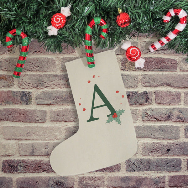 Holly Initial Stocking - PetitePeople