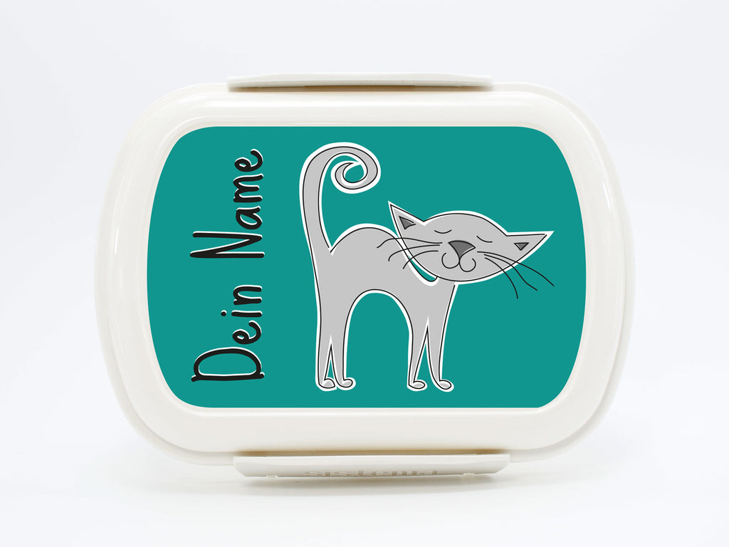 Personalized Lunchbox Small Farm Cat - PetitePeople