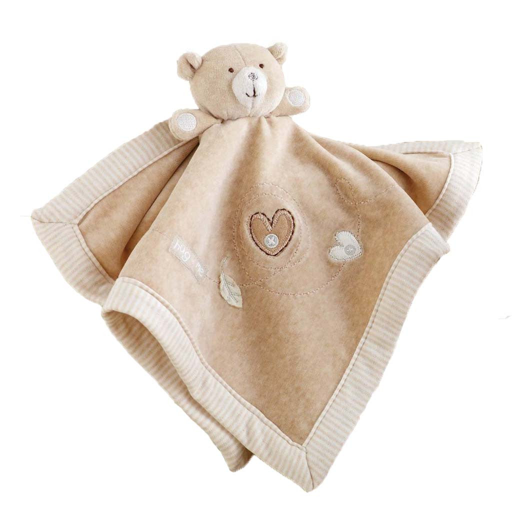 Natures Purest - organic teddy bear cuddle cloth in gift box - PetitePeople