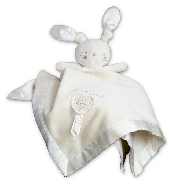 Natures Purest - organic rabbit cuddle cloth in gift box - PetitePeople