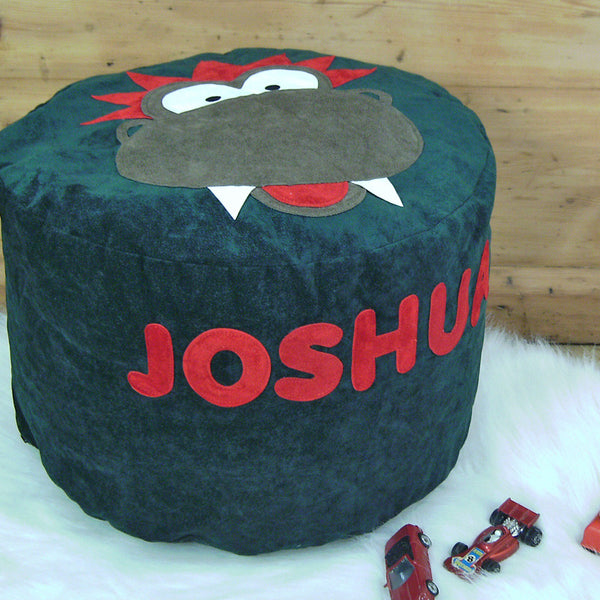 Personalised Bean Bag - Dizzy Dinosaur - PetitePeople