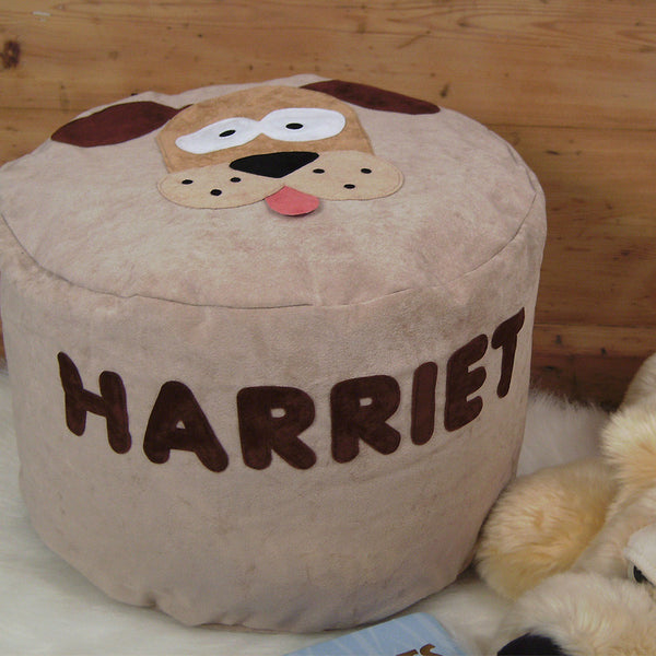 Personalised bean bag - Digby the dog - PetitePeople