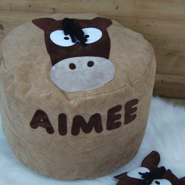 Personalised bean bag - Horace the horse - PetitePeople