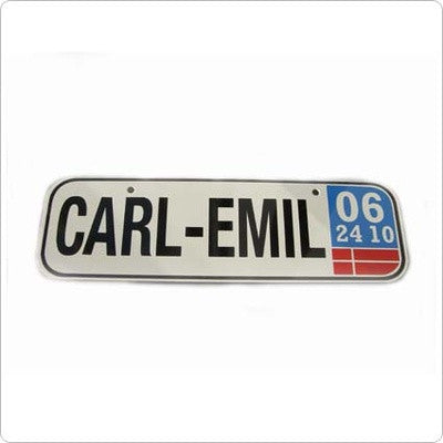 Personalised Number Plate - PetitePeople