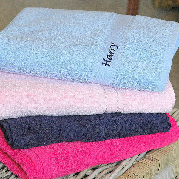 Kids Personalised Swim Towels - PetitePeople