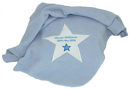 Personalised New baby Blanket - PetitePeople