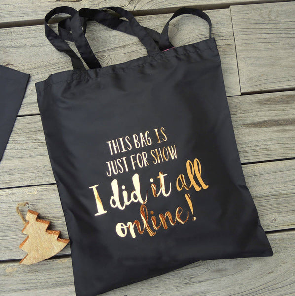 Did It All Online Tote Shopping Bag - PetitePeople