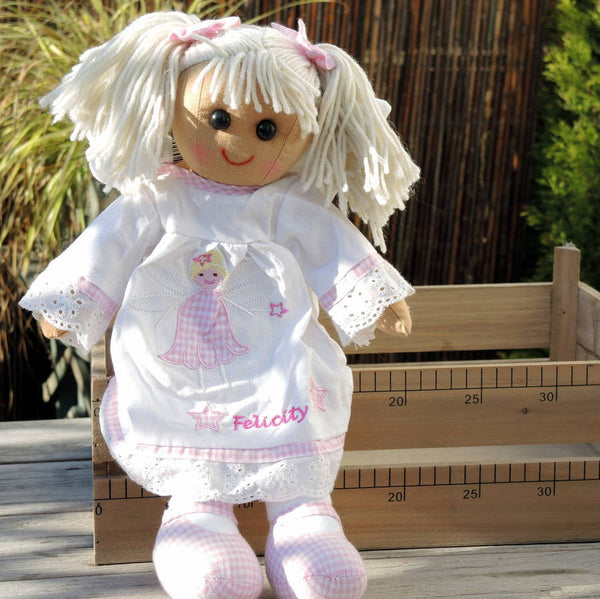 Personalised Angel Rag Doll - PetitePeople