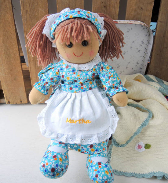 Personalised Martha Rag Doll - PetitePeople