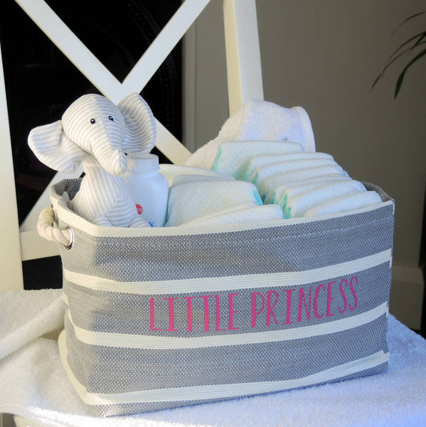 Personalised Nursery Storage Tub - PetitePeople