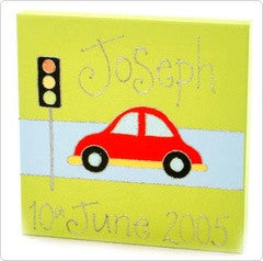 Personalised painting: Car - PetitePeople