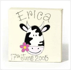 Personalised painting: Cow - PetitePeople