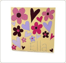 Personalised painting: Flower - PetitePeople