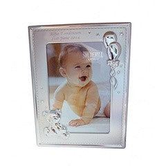 Personalized Two Tone Teddy Photo Frame - PetitePeople