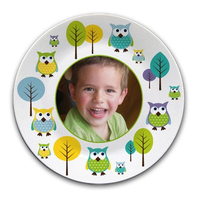 Personalised melamine plate with picture - PetitePeople