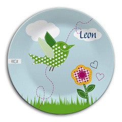 Personalized Plate Bird - PetitePeople