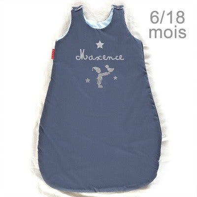 Personalized Sleeping Bag Navy Blue - PetitePeople