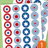 Dots - Coordinated Color Stickers - PetitePeople