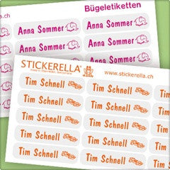 Personalized Iron-On Labels - PetitePeople