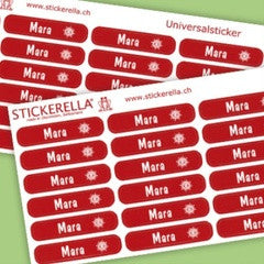Personalized Narrow Universal Sticker - PetitePeople