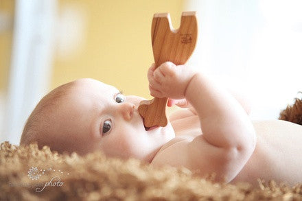 Personalized Wooden Cross Rattle - PetitePeople