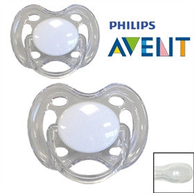 Philips Avent personalized pecifiers Symmetrical Silicone, Str. 0-6 md. Pack of 2 pieces. suck - PetitePeople