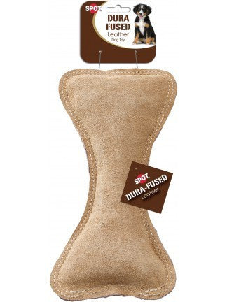 SPOT Dura-Fused Leather & Jute Bone 9""