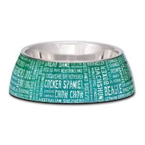Milano Collection Stainless Steel Dog Bowl Breeds