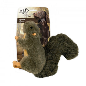 all for paws afp classic squirrel dog toy
